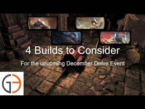 Poe Builds 4 Builds To Consider For Upcoming Delve Event Youtube