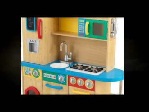 KidKraft Cook Together Kitchen 53186   Great Kids Toy Kitchen Set With  Awesome Features