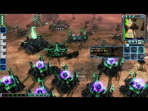 Tiberium secrets MOD , C&C 3 Tiberium Wars - Mod Test , LIVE GAMEPLAY HD