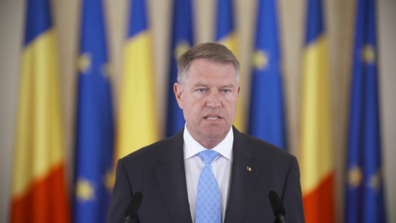 Klaus Iohannis anunta convocarea unui Referendum pentru Justiție