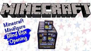 Minecraft Minifigure Chest Series 1 Unboxing!