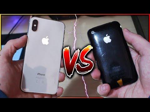 iPhone 10 VS iPhone 3G! - 10 ANNI DI DIFFERENZA!!