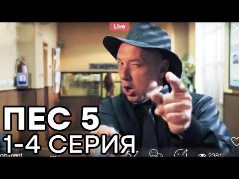Сериал ПЕС 5 СЕЗОН - 1-4 серия - ВСЕ СЕРИИ ПОДРЯД | СЕРИАЛЫ ICTV