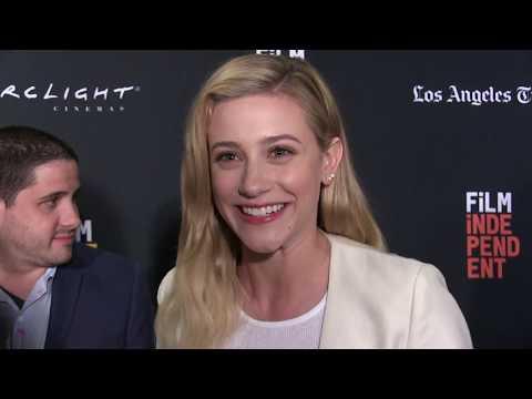 Lili Reinhart Interview for 'Galveston' at LA Film Festival