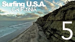 Surfing USA: CALIFORNIA [Part 5] - LuzuVlogs
