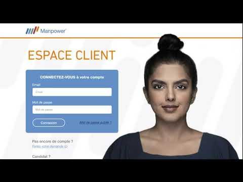 Nouvel Espace Client Manpower pour gérer et piloter ses projets RH en toute simplicité