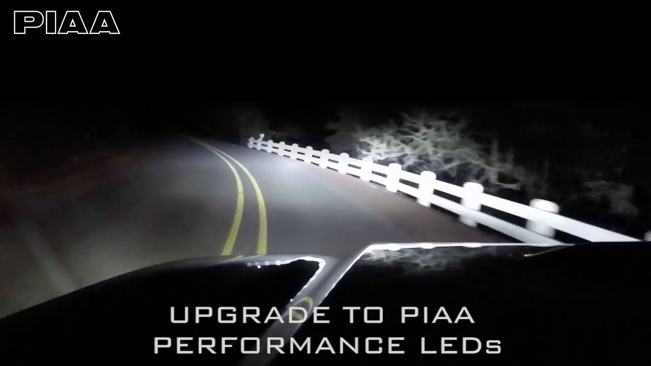 Piaa white 6000k led performance bulbs youtube parisarafo Images