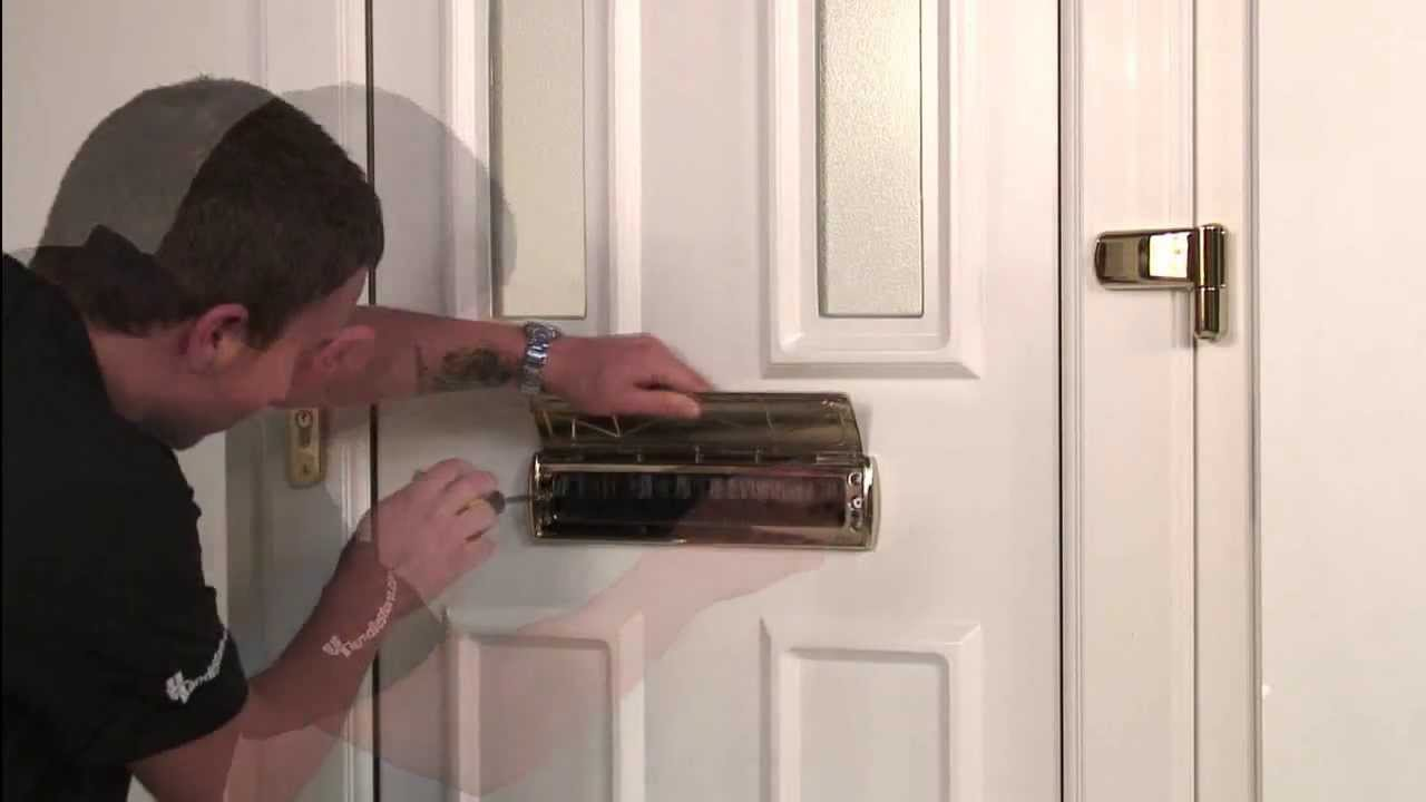 How To Replace Upvc Door Letterboxes Youtube