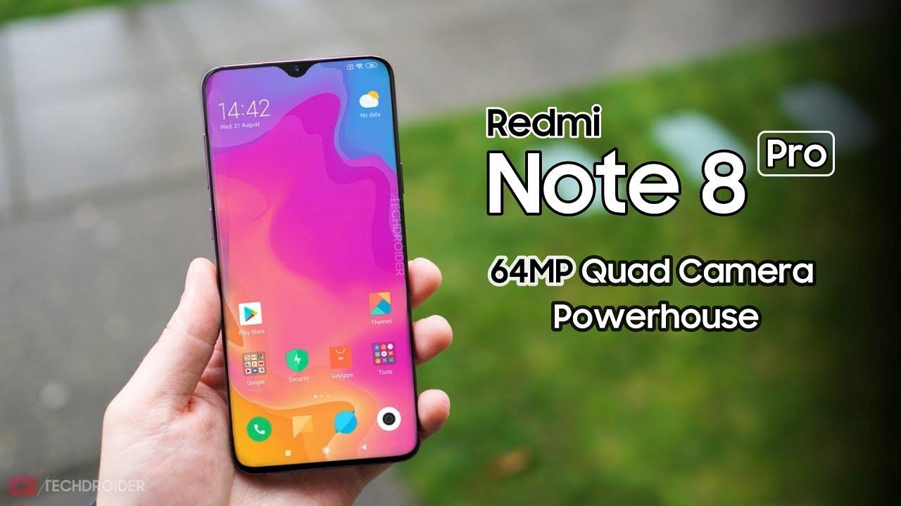 Image result for Redmi Note 8 Pro on youtube