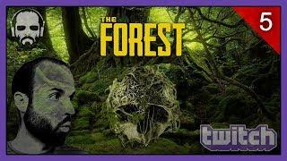 THE FOREST #5   ACABANDO LA MURALLA   Gameplay Español