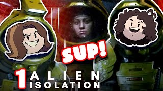 There's an ALIEN on this ship! - Alien isolation: PART 1
