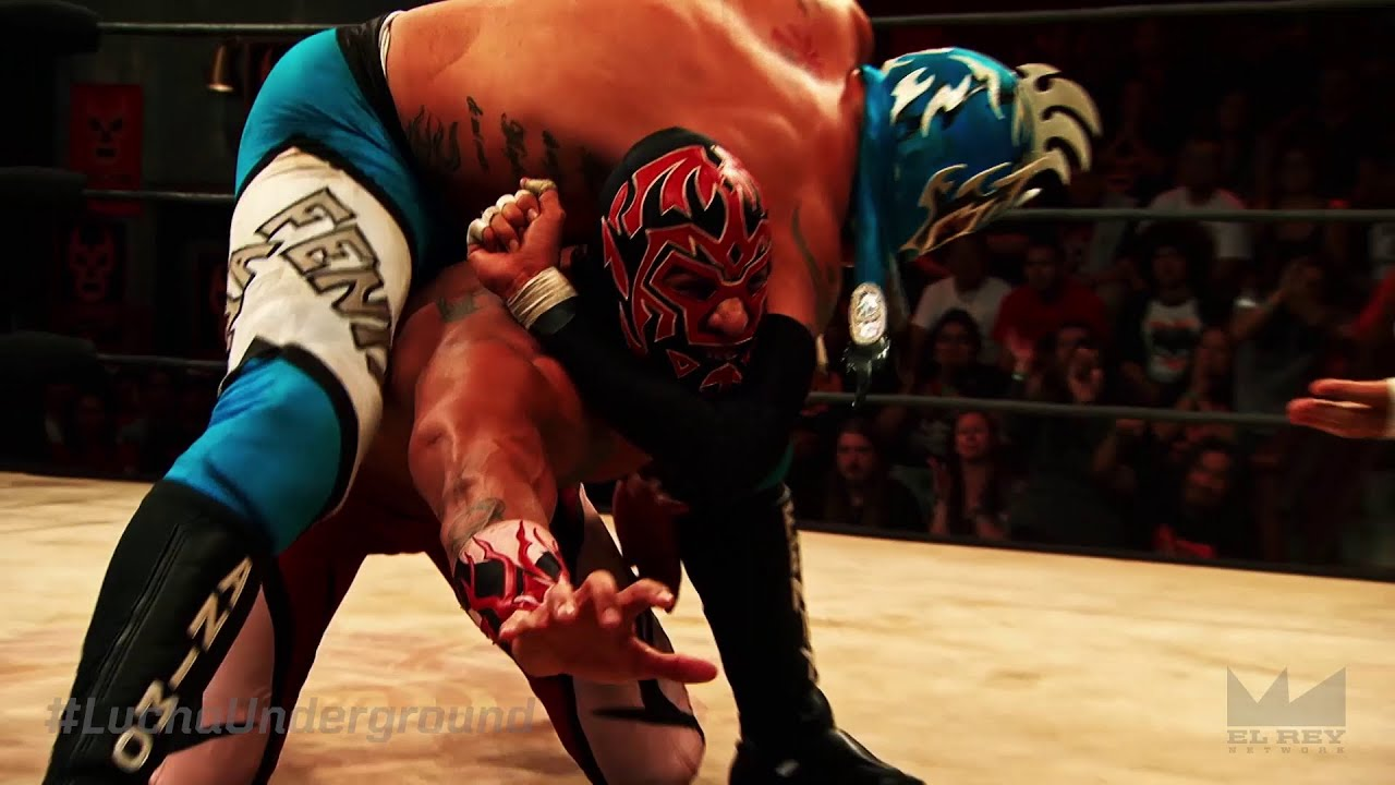 Lucha Libre Youtube Lucha Underground 1 27 16 Highlights
