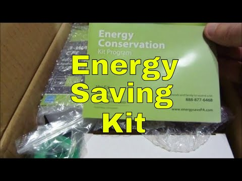 RMM0006 - Unboxing the Energy Saving Kit from your electric company
