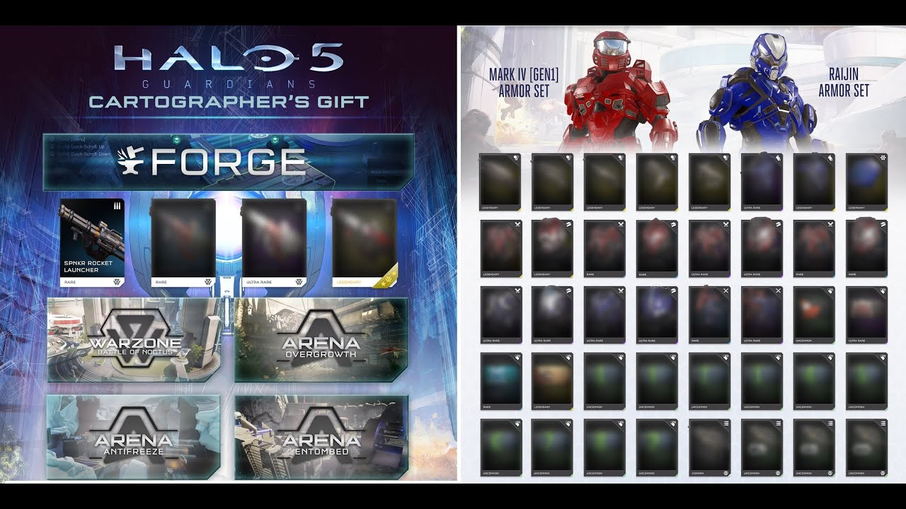 The Cartographers Gift - Halo 5 (Thoughts) - YouTube