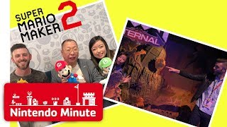 E3 Vlog Day 3 - Super Mario Maker 2 Dreams Come True & Touring the Show Floor - Nintendo Minute