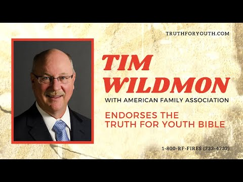 Tim Wildmon endorses The Truth For Youth