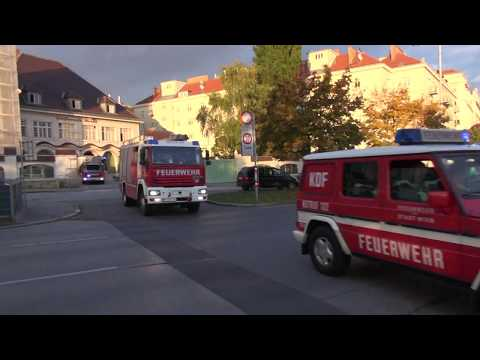 Löschbereitschaft Berufsfeuerwehr Wien HFW Mariahilf