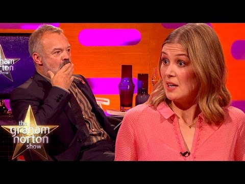 Dame Judi Dench Convinced Rosamund Pike To Go On A Blind Date with a Fan - The Graham Norton Show