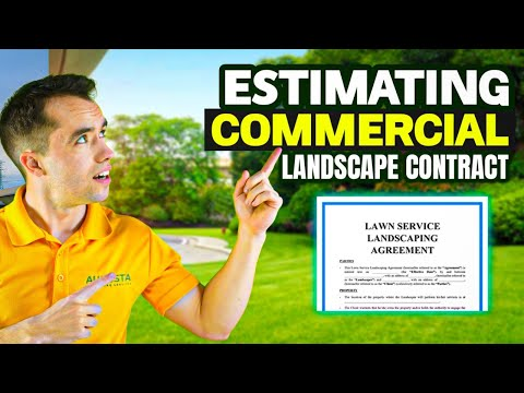 How To Estimate First Commercial Lawn Care Contract