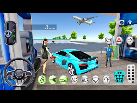 3D Driving Class Game - Super Car Drive - Android IOS Gameplay