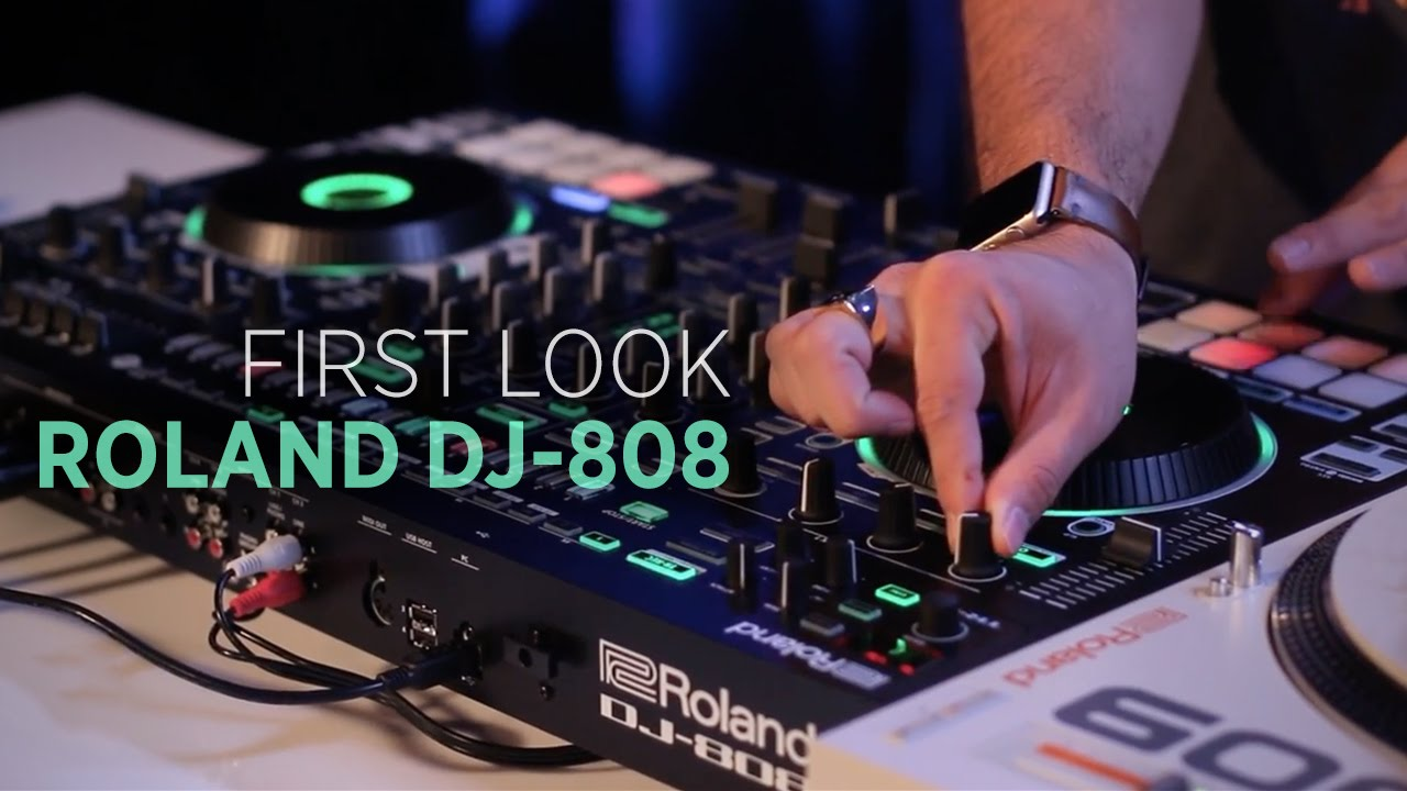 Everything You Need To Know About Roland's DJ-808 Serato