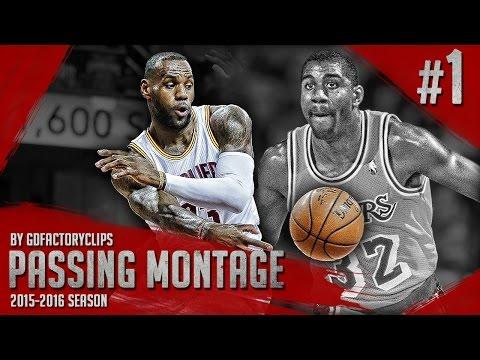 LeBron James UNREAL Offense Passing Highlights 2015/2016 (Part 1) - Magic James!