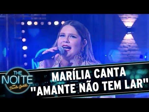 Marília Mendonça canta Amante Não Tem Lar e Murilo aplaude de pé  The Noite 04/09/17