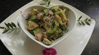 Салат из тунца с авокадо     Avocado Tuna Salad