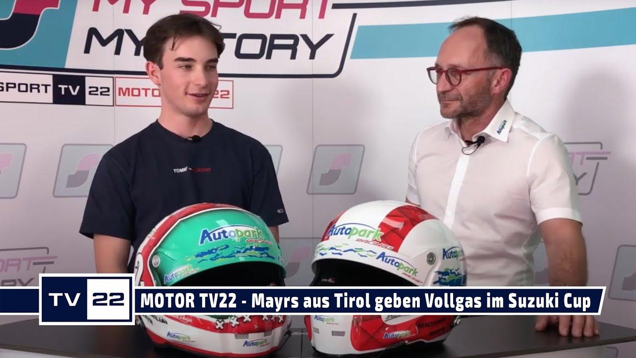MOTOR TV22: Mayrs aus Tirol geben Vollgas im Suzuki Cup mit Autopark Racing