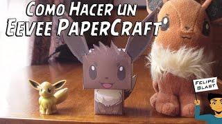 [E] Como hacer un Eevee de papel (Pokemon Cubecraft/Papercraft) por FelipeBlast