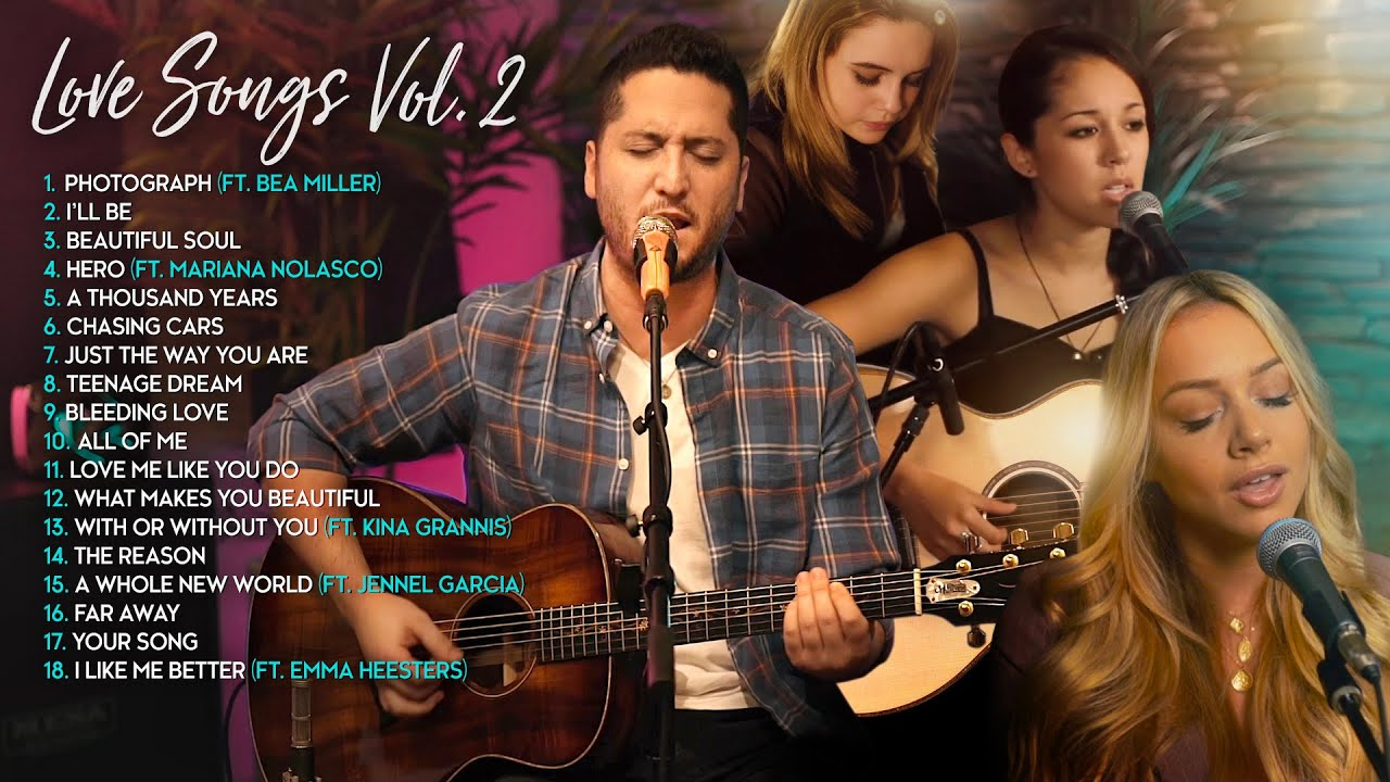 Boyce Avenue Acoustic Cover Love Songs/Wedding Songs Vol 2 (Bea Miller, Kina Grannis, Emma Heesters)