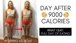 What I Eat In A Day: AFTER CHEAT DAY 9000+ Calories | Cheat Day Q&A Questions Answered