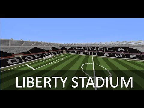 Minecraft - MEGABUILD - Liberty Stadium (Swansea City)
