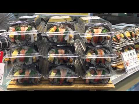 Food Halls in Tokyo: Takashimaya in Shinjuku, Tokyo