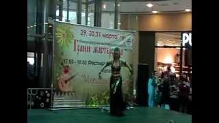 Арабский танец, исполнитель - Евгения Асеева