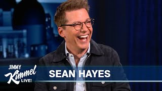 Sean Hayes on Being a Regular in the ER, Touring with Kenny Rogers & His Podcast Empire