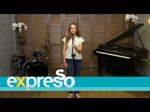 """Amira Willighagen Performs """"With All My Heart"""""""