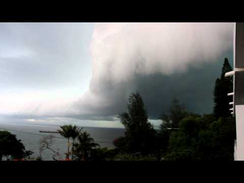 Maputo - upcoming thunderstorm