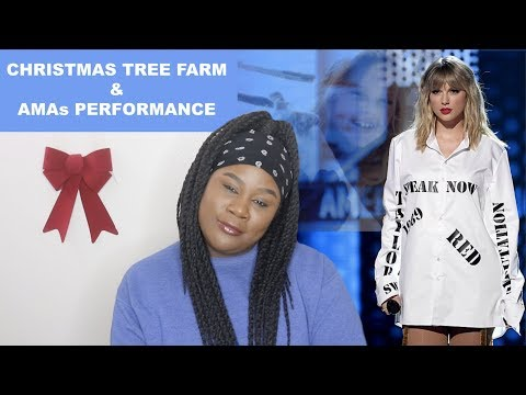 Taylor Swift - Christmas Tree Farm + AMAs Performance |REACTION|