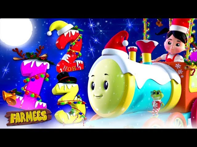 Numbers Song | Learning Videos For Children | Christmas Cartoons For Toddlers - Farmees