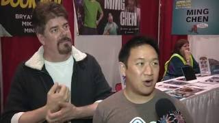 Comic Book Men Interview with Mike and Ming at Motor City Comic Con 2016