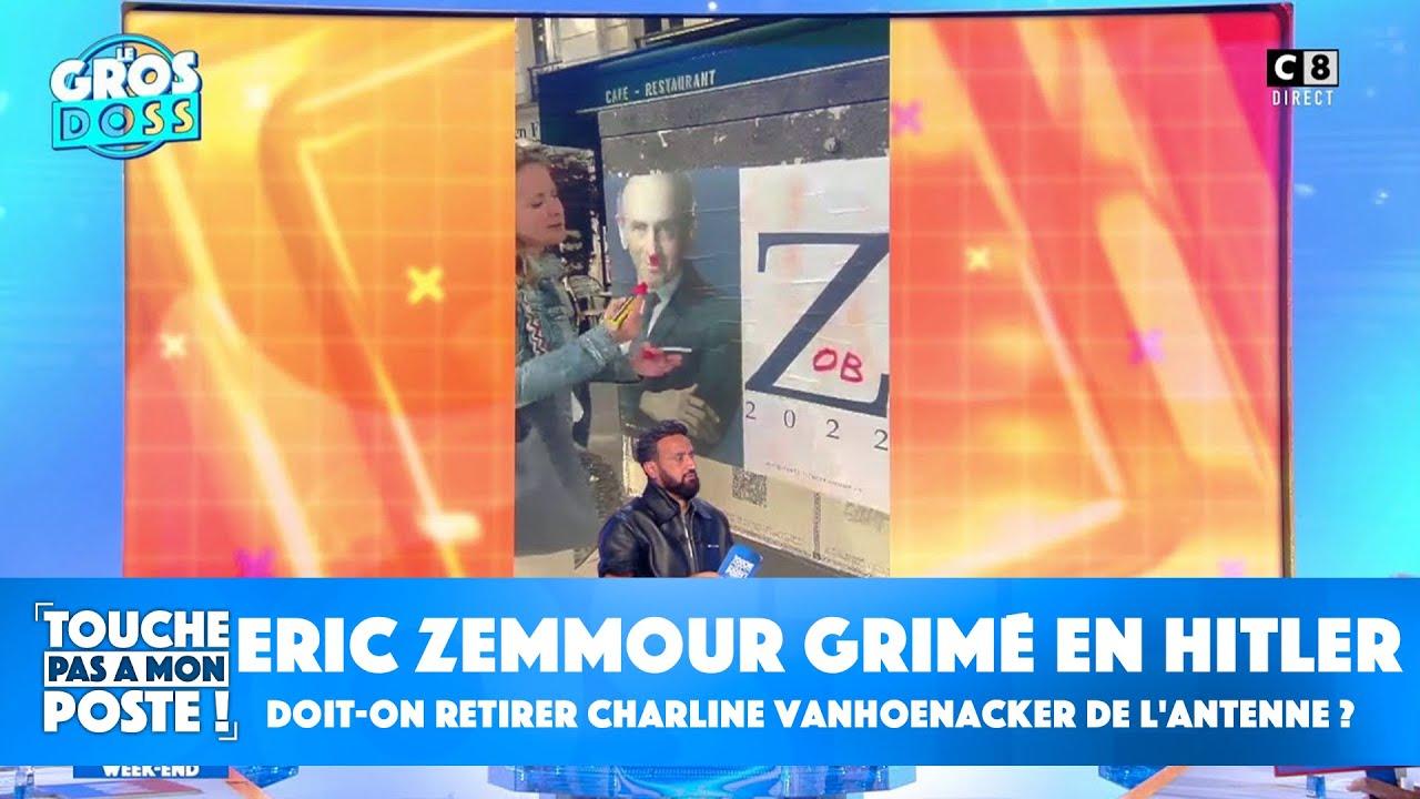 Replay TPMP : Eric Zemmour grimé en Hitler : doit-on retirer Charline Vanhoenacker de l'antenne ?