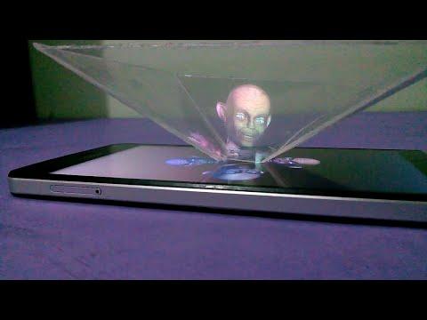 3D hologram Nasıl Yapılır ( Telefon İçin )