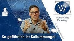 Kaliummangel (=Hypokaliämie): Kalium ist extrem wichtig! Auswirkungen & Symptome Mineralstoff Mangel