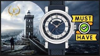 Часы Must Have для мужчин! Обзор часов Breguet Marine Big Date 39mm ref 5817ST/Y2/5V8 оригинал !