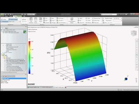 Autodesk Moldflow Design Optimization