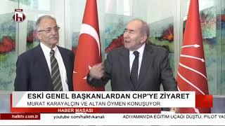 Eski Genel Başkanlardan CHP'ye ziyaret / Önemli açıklamalar