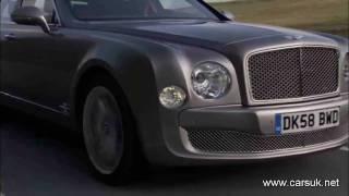 Bentley Mulsanne 2010 Driving
