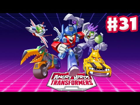 Angry Birds Transformers - Gameplay Walkthrough Part 31 - Shockwave! Daily Quests! Auto-Aim! (iOS)
