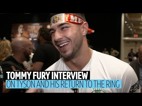 Tommy Fury on Tyson's mental health, his future in boxing, Ricky Hatton mocking him in the gym thumbnail